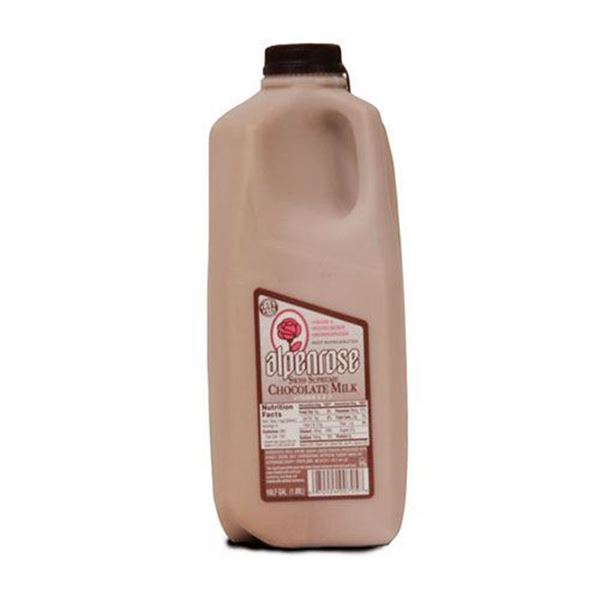 Alpenrose 6% Chocolate Milk - Half Gallon