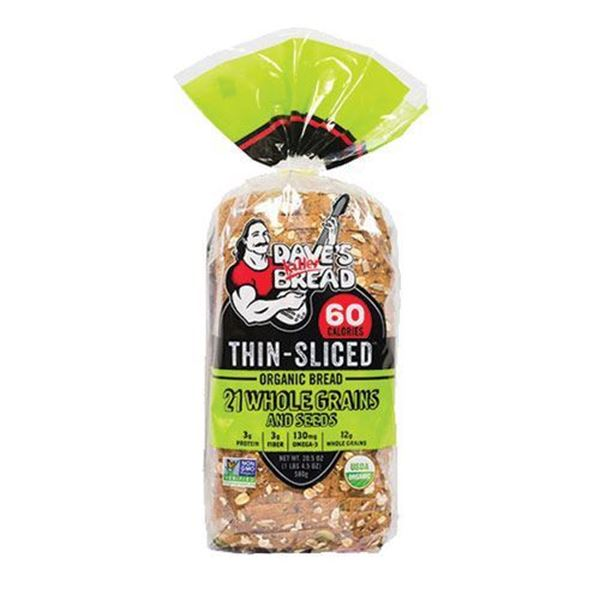 Dave's Killer Bread 21 Whole Grains - Thin Sliced - 20.5 oz.