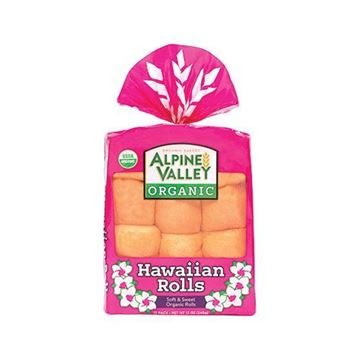 Alpine Valley Organic Hawaiian Rolls - 12-pk