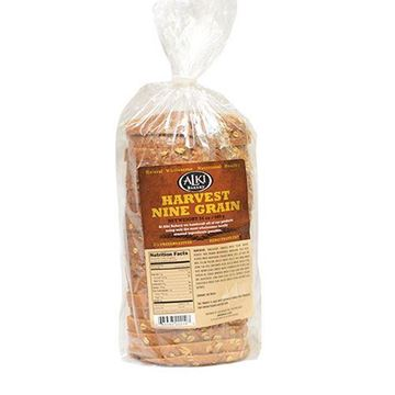 Alki Bakery Nine Grain Bread - 24 oz.