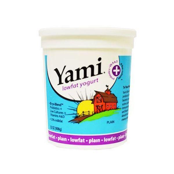 Yami Low fat Plain Yogurt - 32 oz.