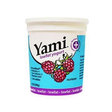 Yami Low fat Raspberry Yogurt - 32 oz.
