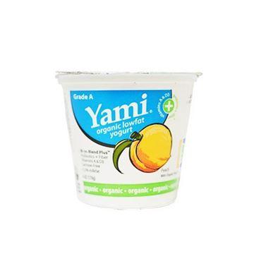 Yami Organic Peach Yogurt - 6 oz.