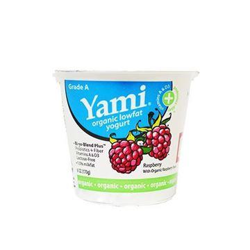 Yami Organic Raspberry Yogurt - 6 oz.