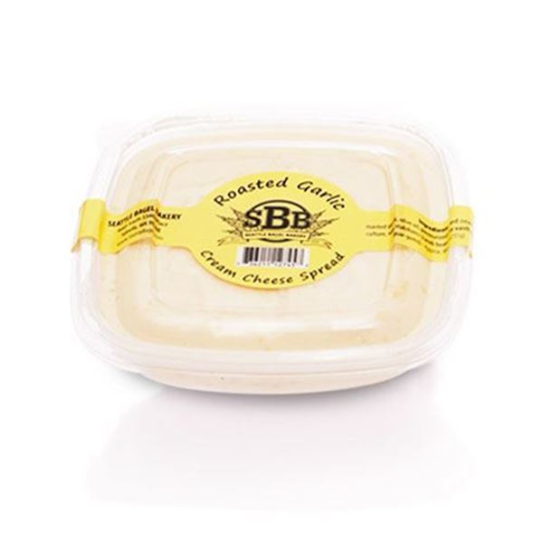 Seattle Bagel Bakery Roasted Garlic Cream Cheese - 9 oz.