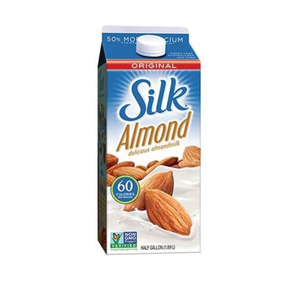 Order Online Silk Original Almond Milk Half Gallon in the ...