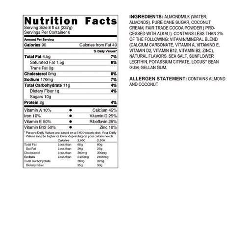 Califia Chocolate Coconut Almond Milk