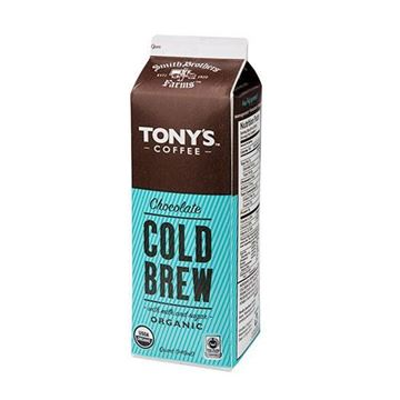 Tony's Organic Cold Brew Coffee with Chocolate Milk