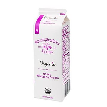 Smith Brothers Farms Organic Whipping Cream Quart