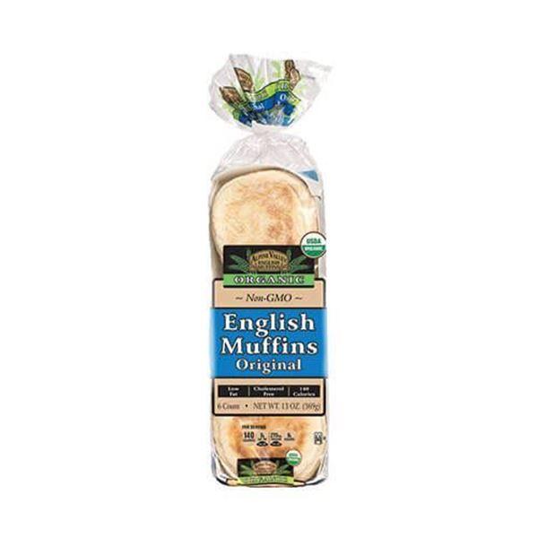 Alpine Valley Organic English Muffins - 6-pk