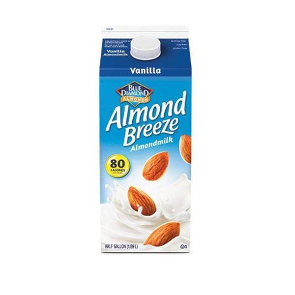 Almond Breeze Vanilla Almond Milk - Half Gallon