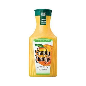 Simply Orange Juice High Pulp - 52 oz.