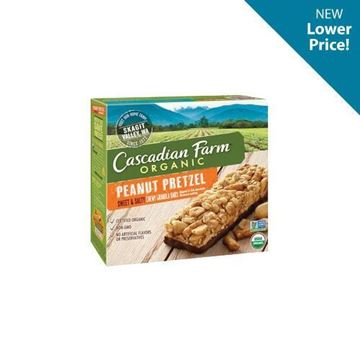 Cascadian Farm Sweet & Salty Pretzel Granola Bars - 5 ct.