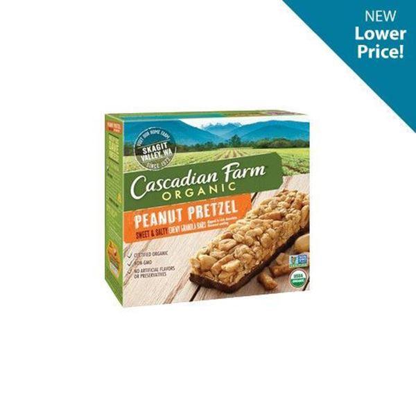 Cascadian Farm Sweet & Salty Pretzel Granola Bars - 5 ct.