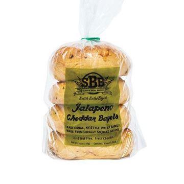 Seattle Bagel Bakery Jalapeño Cheddar Bagels - 4-pk