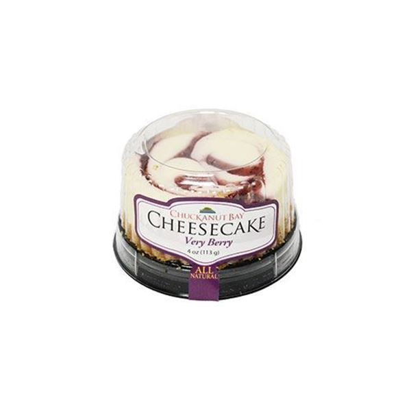 Chuckanut Bay Very Berry Cheesecake - 4 oz.