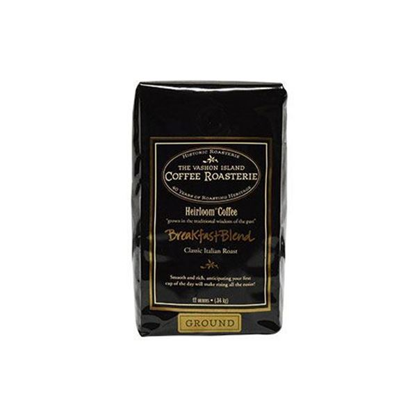 Vashon Breakfast Blend Ground Coffee - 12 oz.