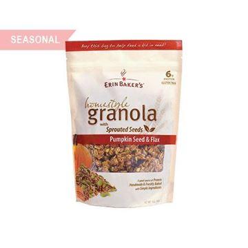 Erin Baker's Pumpkin Seed & Flax Granola - 12 oz.
