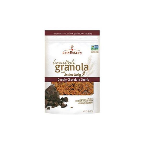 Erin Baker's Double Chocolate Chunk Granola - 12 oz.