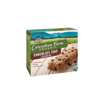 Cascadian Farm Chocolate Chip Granola Bars - 6 ct.