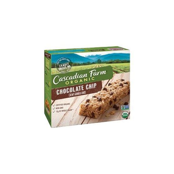 Cascadian Farm Chocolate Chip Granola Bars - 6 ct.