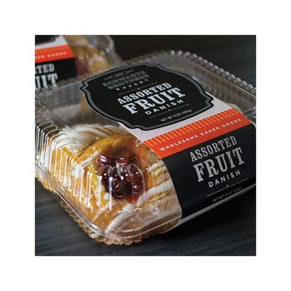 Schwartz Brothers Bakery Assorted Danish - 6 pk