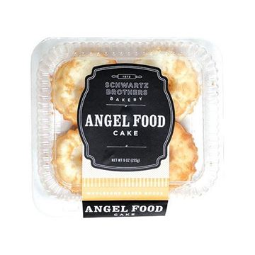 Schwartz Brothers Bakery Angel Food Cake - 4-pk