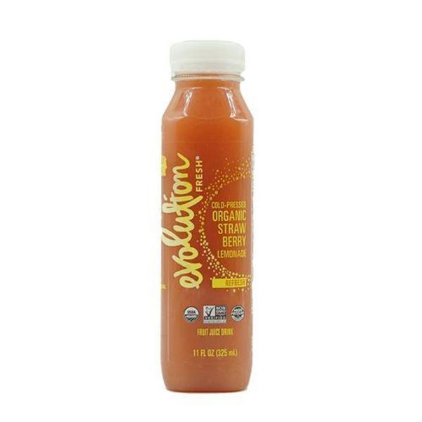 Evolution Fresh Cold-Pressed Organic Strawberry Lemonade - 11 oz.