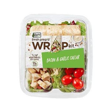 Ready Pac Bacon and Garlic Caesar Wrap Kit - 8.5 oz.
