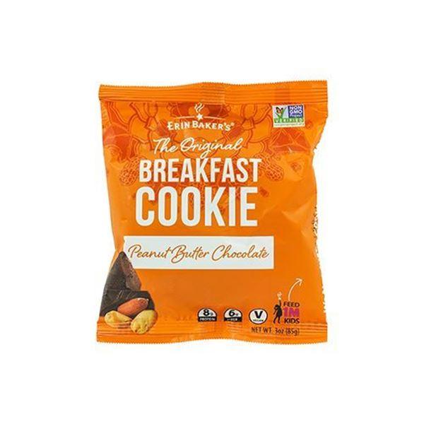 Erin Baker's Chocolate Peanut Butter Breakfast Cookie - 3 oz.