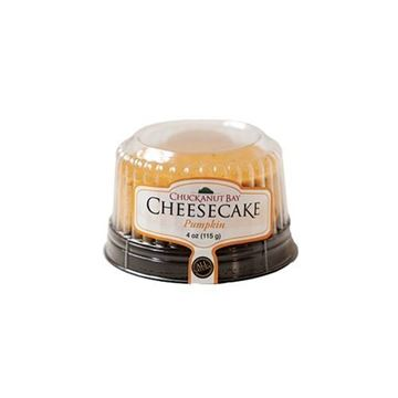 Chuckanut Bay Pumpkin Cheesecake - 4 oz.