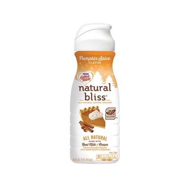 Natural Bliss Pumpkin Spice Coffee Creamer - 16 oz.