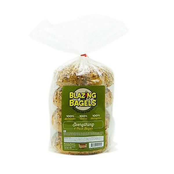 Blazing Bagels Everything Bagels – 4-pk.