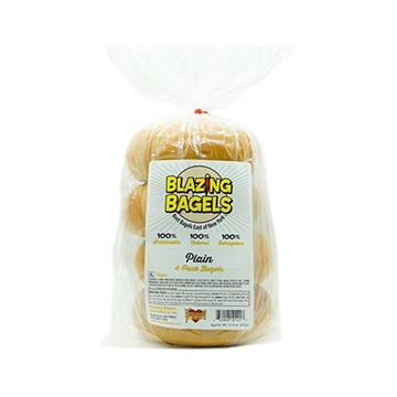 Blazing Bagels Plain – 4-pk