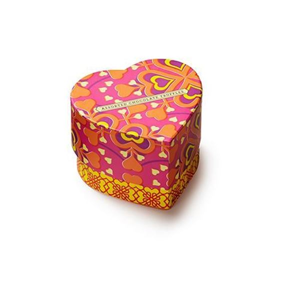 Seattle Chocolate Sunshine Heart Box - 6 oz.