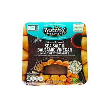 Tasteful Selections Sea Salt and Balsamic Mini Sweet Potatoes - 12 oz.