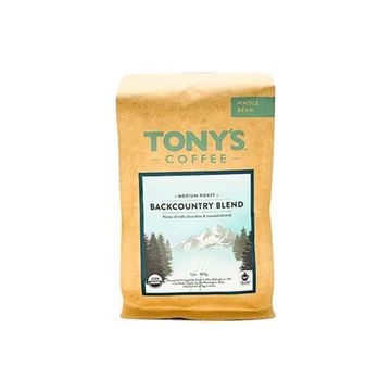 Tony's Backcountry Blend Organic Whole Bean Coffee - 12 oz.
