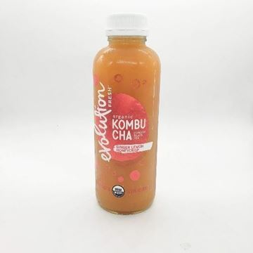 Evolution Fresh Organic Ginger Lemon Honeycrisp Kombucha - 15.2 oz.