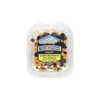 Northwest Delights Olympic Mountain Milk Chocolate Trail Mix - 10 oz.