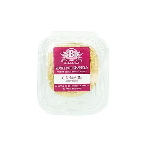 Seattle Bagel Bakery Cinnamon Honey Butter - 3.7 oz.