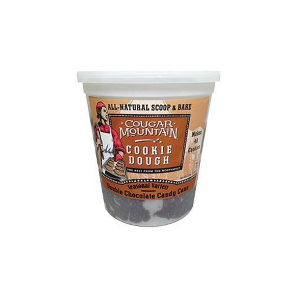Cougar Mountain Double Chocolate Candy Cane Cookie Dough - 3 lbs.