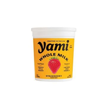 Yami Whole Milk Strawberry Yogurt - 32 oz.