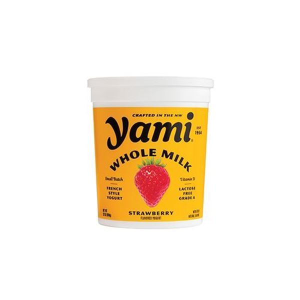 Yami Whole Milk Strawberry Yogurt - 32 oz.