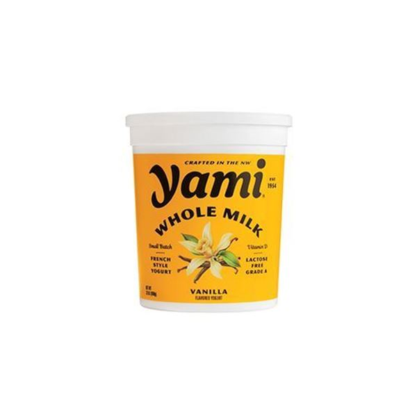 Yami Whole Milk Vanilla Yogurt - 32 oz.