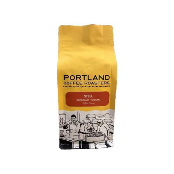 Portland Coffee Roasters Steel Blend Ground Coffee - 12 oz.