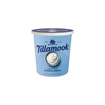 Tillamook Plain & Simple Greek Yogurt - 24 oz.