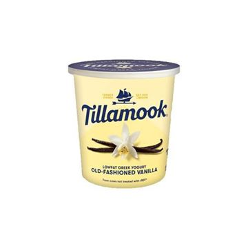 Tillamook Old Fashioned Vanilla Greek Yogurt - 24 oz.