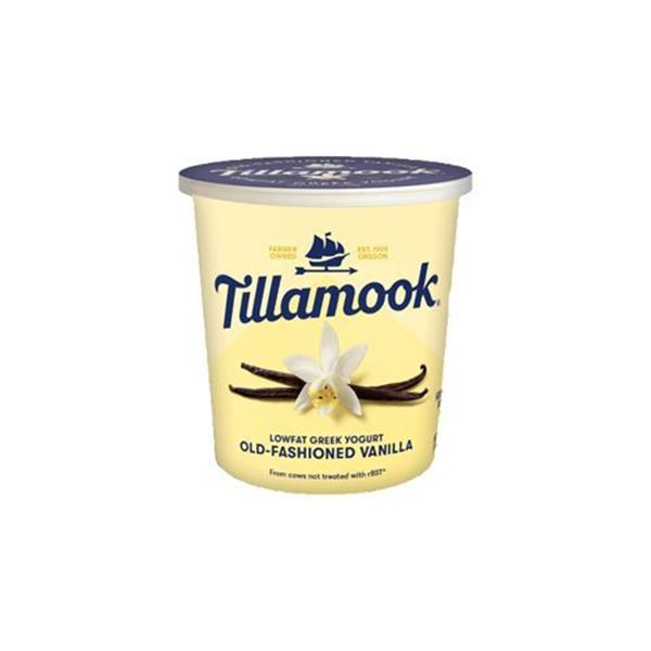 Tillamook Old Fashioned Vanilla Greek Yogurt - 24 oz.