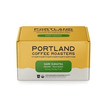 Portland Coffee Roasters Single Serve Organic Dark Sumatra – 12 ct.