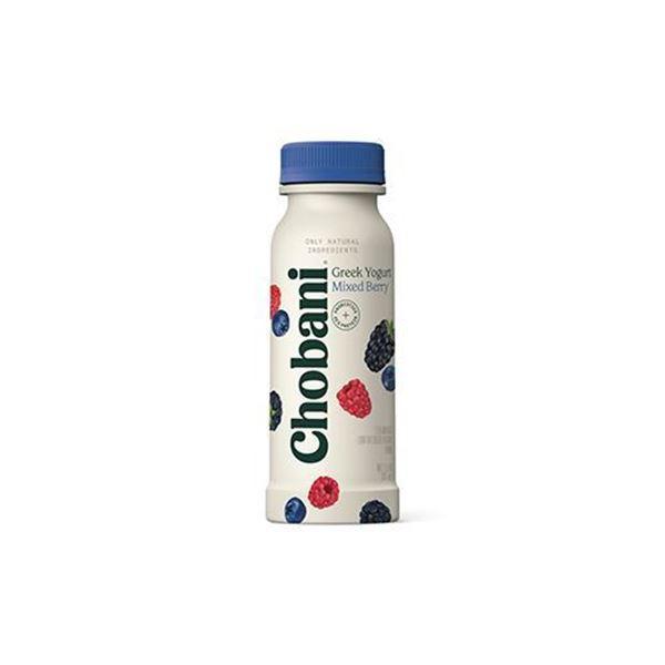 Chobani Mixed Berry Greek Yogurt Drink – 7 oz.